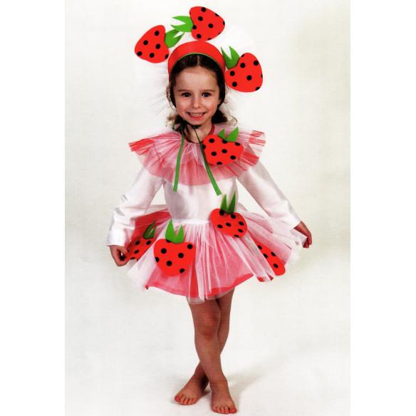 Disfraz Infantil Fresita