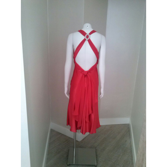 Vestido FAYAZI  Rojo