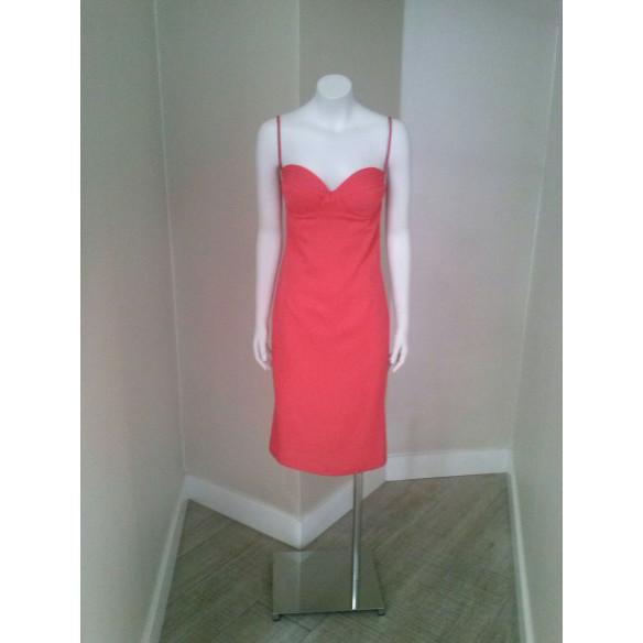 Vestido MIREIA BISBE Coral