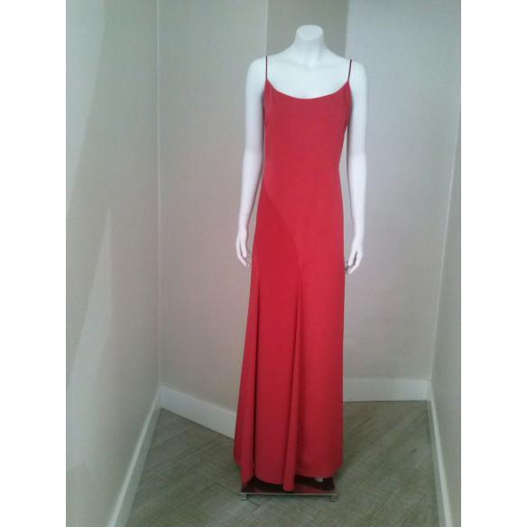 Vestido MIREIA BISBE Rojo