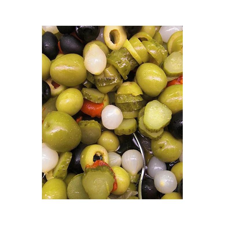 Gazpacha artesana con aceite