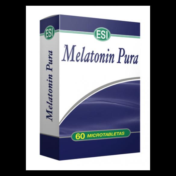 MELATONINA PURA 60 MICROTABLETAS ESI