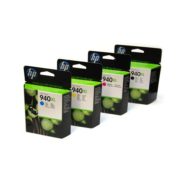 PACK ORIGINAL HP 940XL