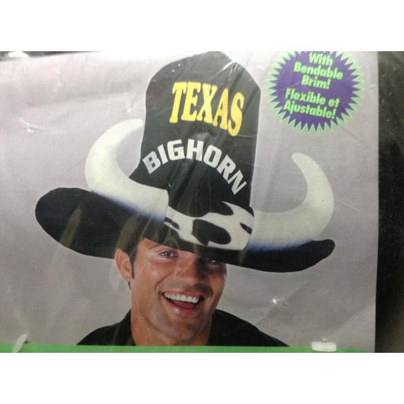"Sombrero Cowboy  ""Corne de Taureau"""