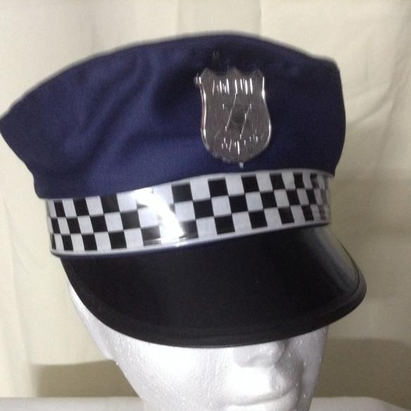 Gorra  Policía Adulto Mujer