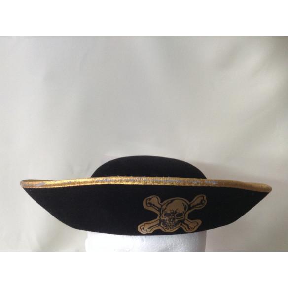 Sombrero  Pirata  Niño Negro