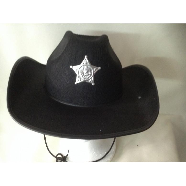 Sombrero  Sheriff Adulto