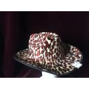Sombrero. Cowboy Atigrado
