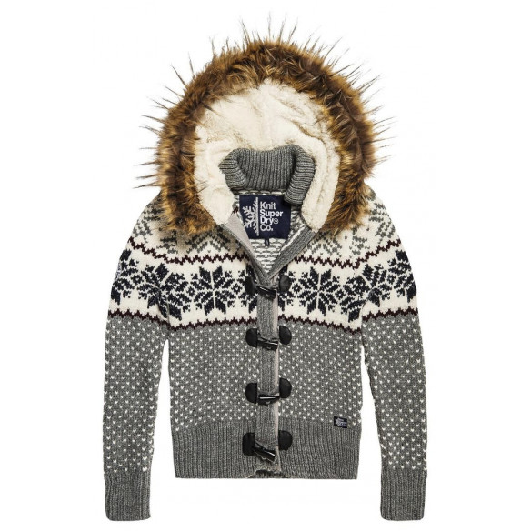 CHAQUETA SUPERDRY DE PUNTO WINTER