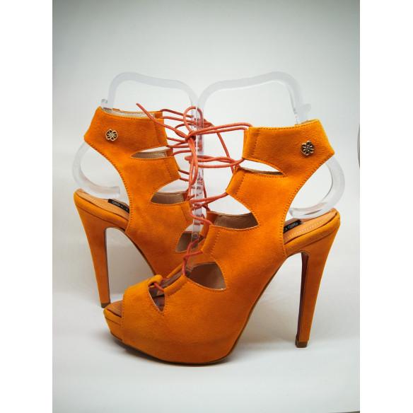 sandalia cordones ante escalona