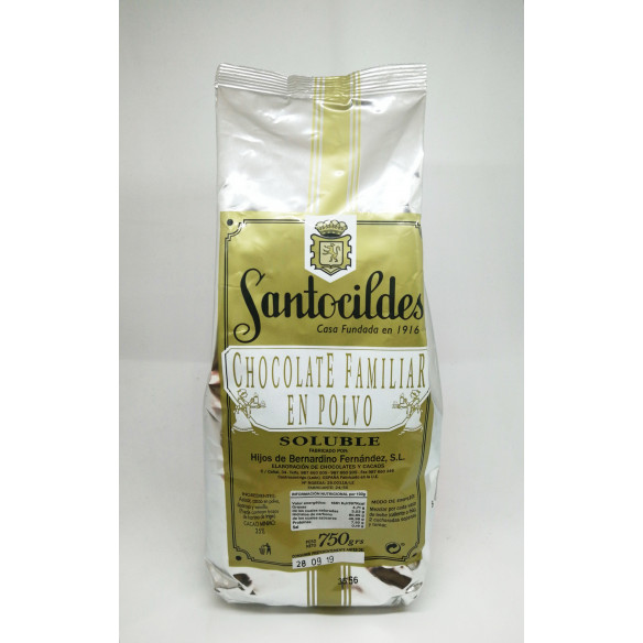 Santocildes Cacao en Polvo Soluble