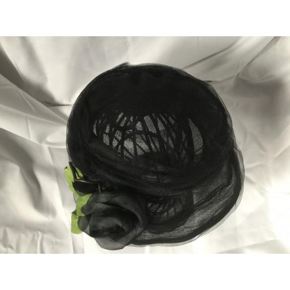 Sombrero vintage tul