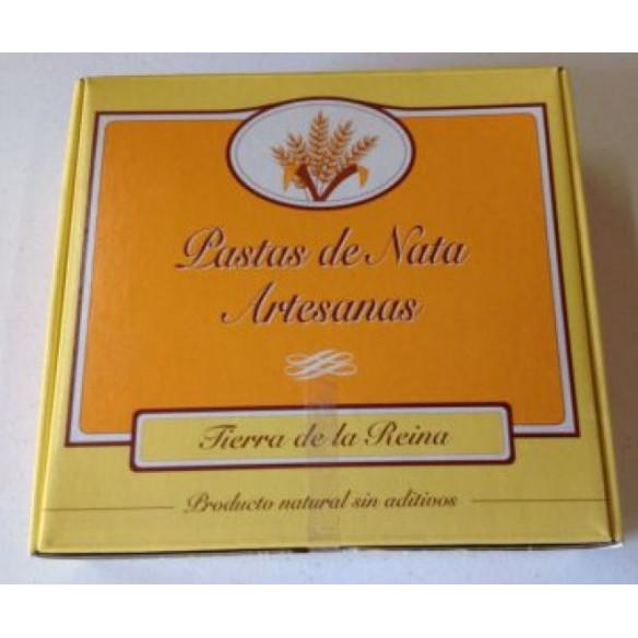 PASTAS DE NATA Y MANTEQUILLA  ARTESANAS