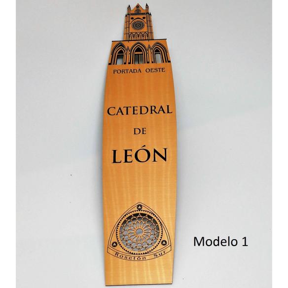 Marcapáginas grande Catedral de León