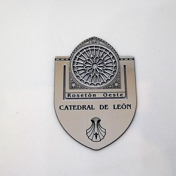 Marcapáginas pequeño Catedral de León