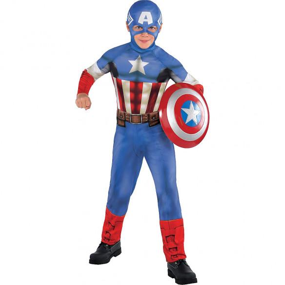Disfraz infantil Capitan América