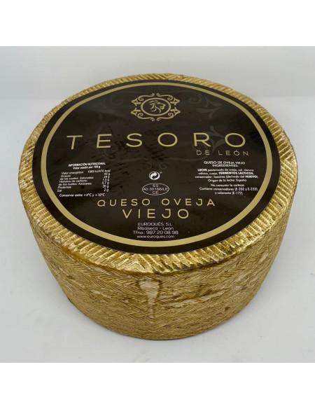 QUESO TESORO DE LEON OVEJA VIEJO