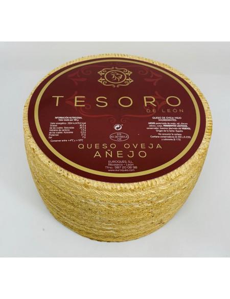 QUESO TESORO DE LEON OVEJA AÑEJO