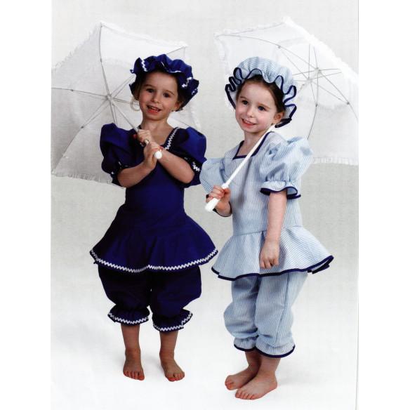 Disfraz infantil Bañistas años 20
