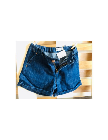 Vaquero short  Denim oscuro