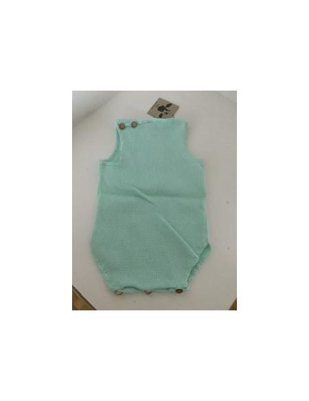 Ranita perle bebé verde agua