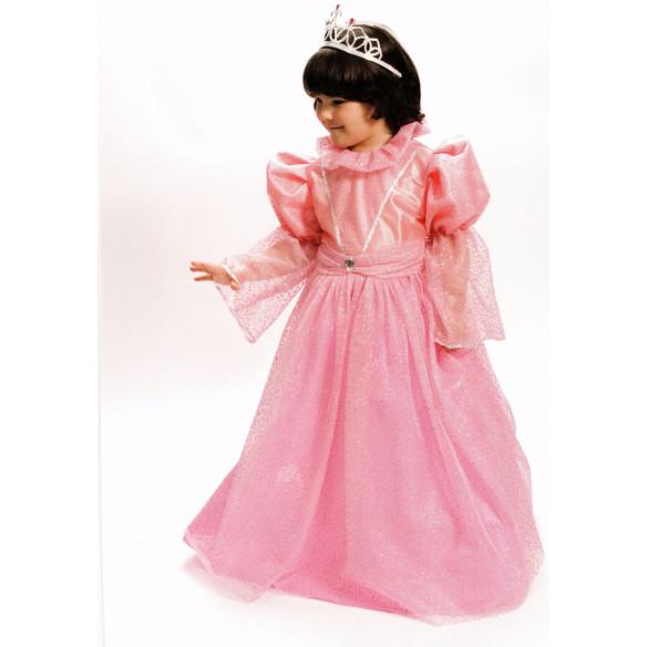 Disfra infantil  Princesa Rosa