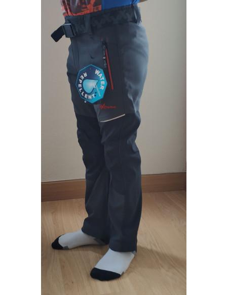 Pantalón trekking niño gris