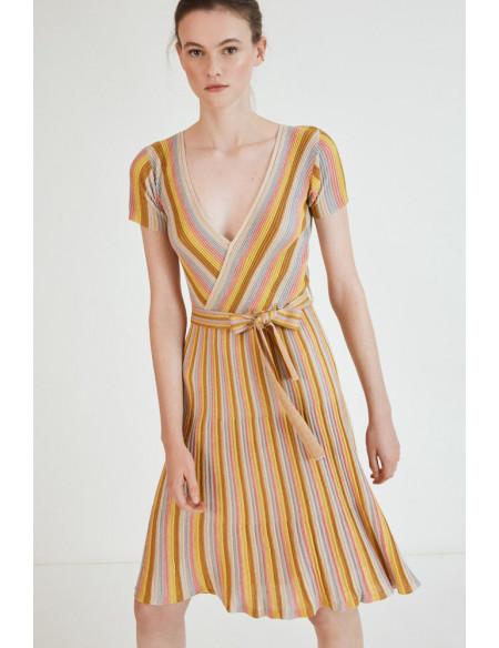 Vestido Punto Lurex