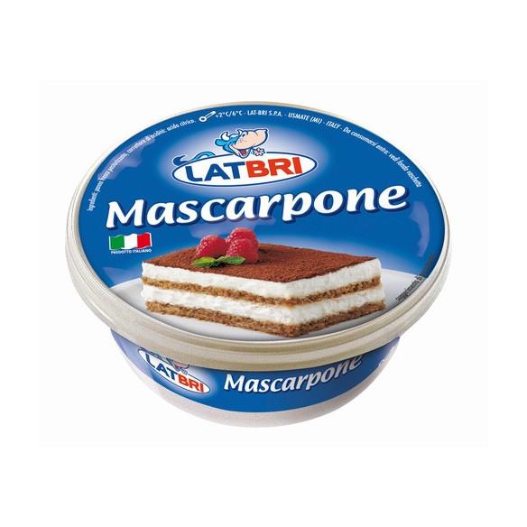 Mascarpone Lat Bri 250grs