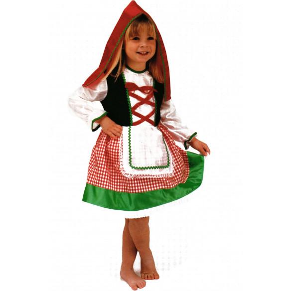 Disfraz infantil Caperucita