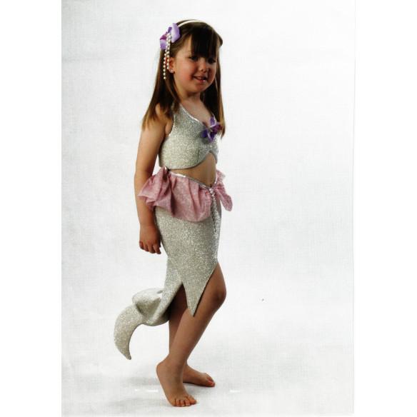 Disfraz infantil Sirena