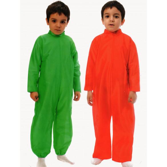 Disfraz infantil mono base ROJO