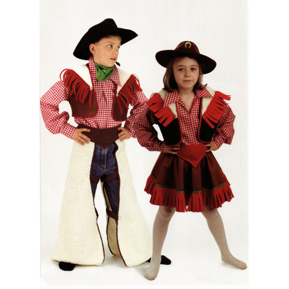 Disfraz infantil Vaquera /Niña