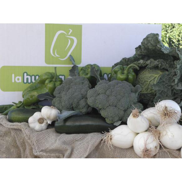 10 kg de hortaliza frescas de Fresno de la Vega