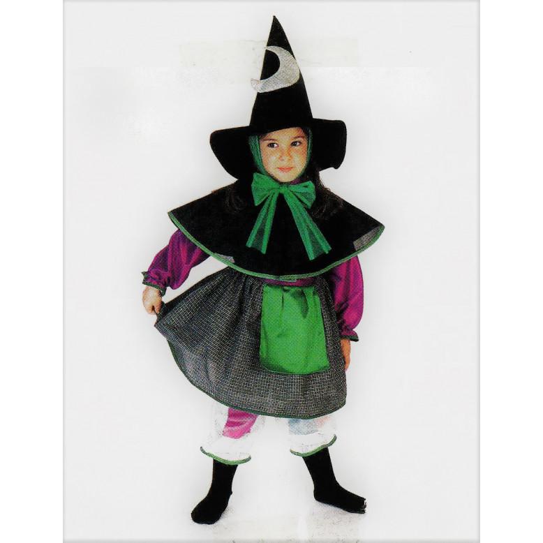 Disfraz infantil Bruja-Viejecita