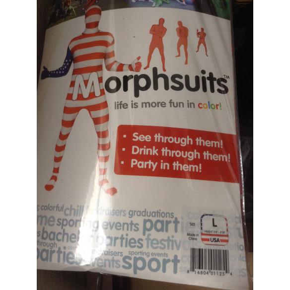 Disfraz de  bandera Morphsuit