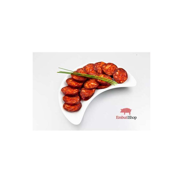 Chorizo de León dulce Marca de Garantía
