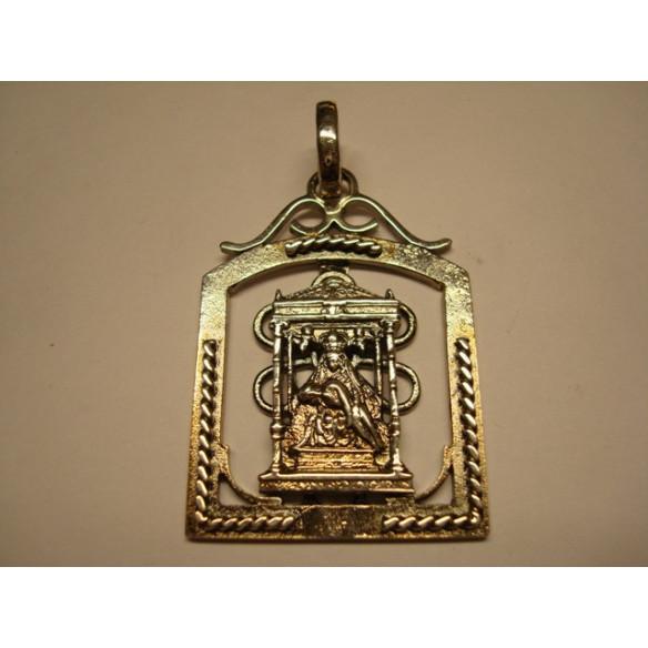 Medalla de  plata Virgen del Camino